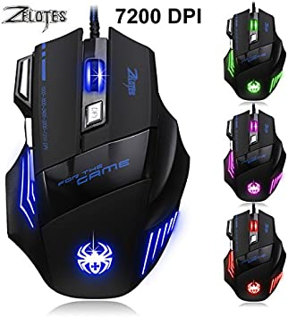 Intelligent Mouse for Laptop//Note Book//PC Mechanical Define The Game USB Wired 1600DPI Adjustable Gaming Mouse Mice for PC