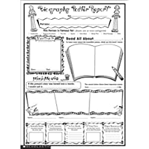 Instant Personal Poster Sets: Biography Report: 30 Big Write-and-Read Learning Posters Ready for Kids to Personalize and Display With Pride!