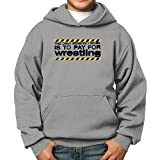 Teeburon reason I Work Is To pay For Wrestling Boy Hoodie