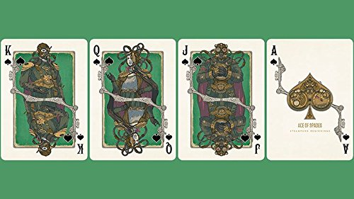 Steampunk Beginnings Playing Cards 5
