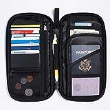 Amazon Basics RFID Travel Passport Wallet Organizer