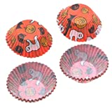 Fox Run Halloween, Mini Muffin Baking Cups, Package of 75