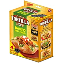 Perfect Tortilla Tortilla Pan Set 4 Pc.