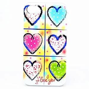 DD ABS Six Loveing Heart Back Case for iPhone 4/4S