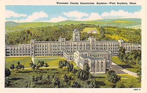 West Boylston Massachusetts Worcester Sanatorium Antique Postcard K88555 (Worcester Antique Massachusetts)