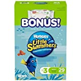 Health & Personal Care : Huggies Little Swimmers Disposable Swimpants, Small, 27 Count - Bonus 56 Wipes Included