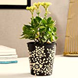 Unravel India Ceramic Brown Bucket Planter