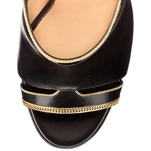 35 Sandali Donna M Amy black Q Nero g05UwYq