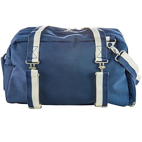 The Abbie by j/fit - Yoga Mat Bag - Navy (J Fit Yoga Mat Shoulder Tote)