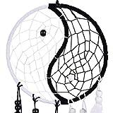 Buytra Handmade Yin Yang Dream Catcher Circular Net