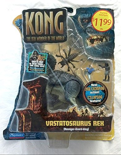 - Playmates Toys Inc. King Kong Basic Figure: Vastatosaurus Rex