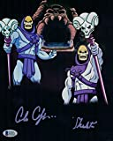 #1: ALAN OPPENHEIMER SIGNED SKELETOR 8X10 PHOTO MASTERS OF THE UNIVERSE BAS