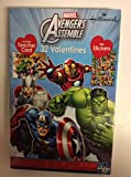 Marvel Avengers Assemble 32 Valentines with Stickers Includes Teacher Card