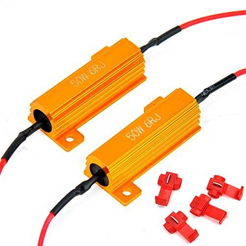 Резисторы 2 Pcs Eyourlife 50W 6ohm