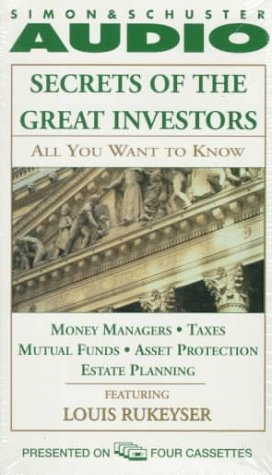 ALL YOU WANT TO KNOW ABOUT: SECRETS OF THE GREAT I: Money Managers and Mutual Funds Taxes, Asset Protection, and Estate Planning