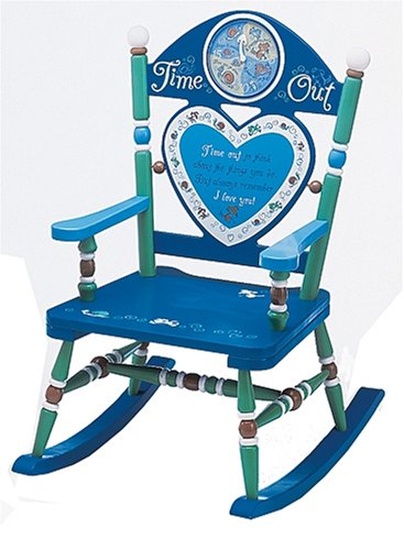 Wildkin Time Out Rocking Chair - Boy