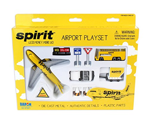 Daron Spirit Airlines Airport Play Set