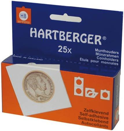 Hartberger Lindner 8322375 M/ünzr/ähmchen-100er-Packung