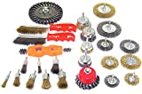 KCHEX>25PC Wire Brush Assorted Kit Wheel Set