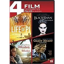 4 Film Favourites: Life of Pi / Black Swan / The Descendants / Crazy Heart