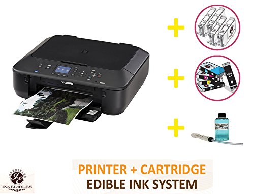 YummyInks Brand Professional Deluxe Package: YummyInks Brand Canon MG5620 Bundled Printing System (includes extras)