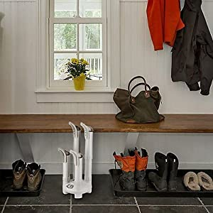 Fast & Silent 4-Shoe Electric Boot Dryer Warmer Thermal Convection Glove Heater