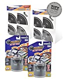 """PlayTape Classic Road Builder Set - 2 Rolls of 15x2"""" Black Road PLUS 2 Pack of Tight Curves - Car Tape for Kids, Sticker Roll for Cars and Train Sets, Stick to Floors and Walls"""