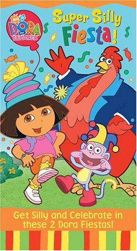 VHS : Dora the Explorer - Super Silly Fiesta [VHS]
