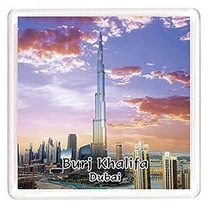 Ajooba Dubai Souvenir Magnet Burj Khalifa 0002