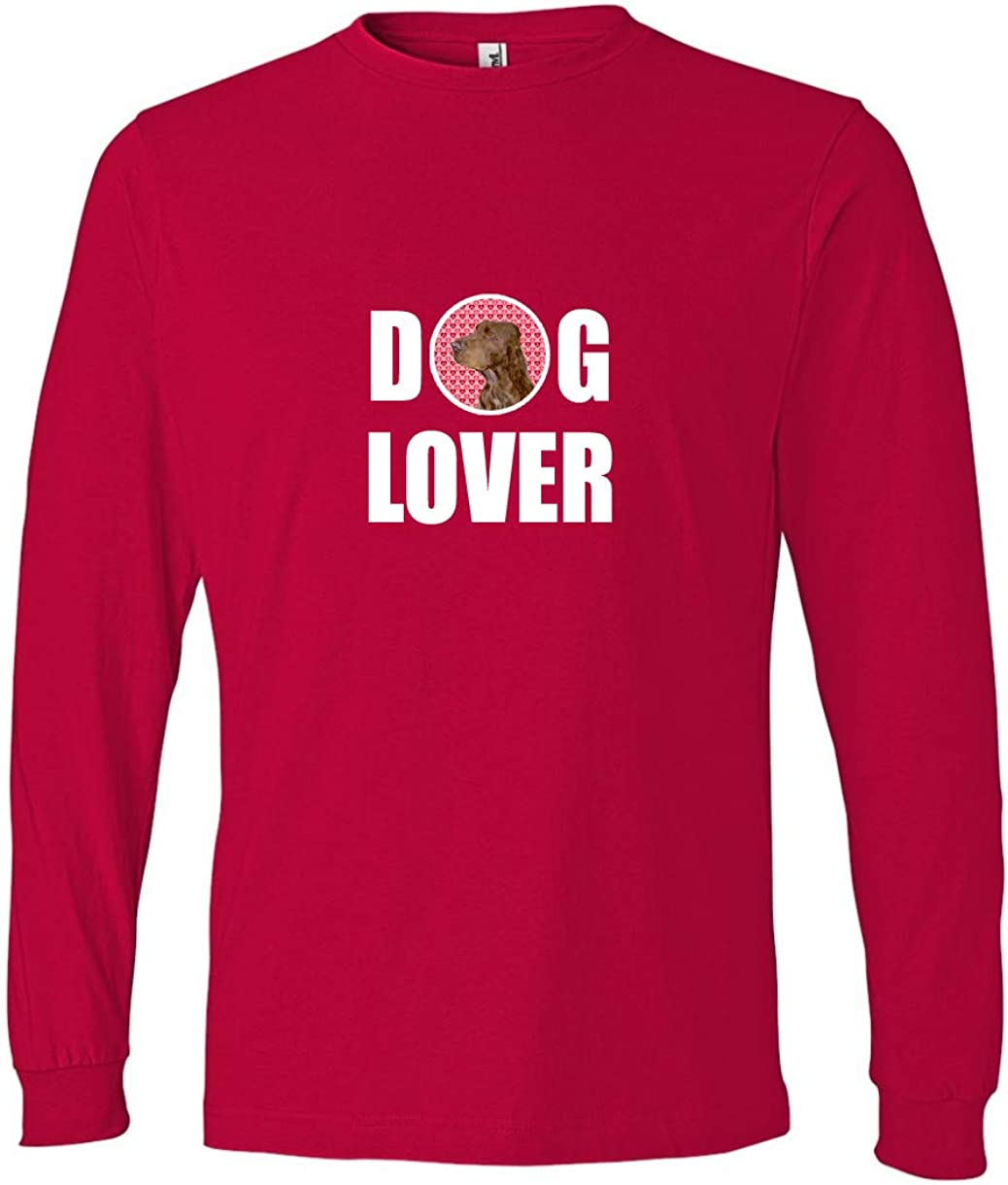 Carolines Treasures SS4525LS-REDU-S Field Spaniel Long Sleeve Red Unisex Adult Small Multicolor S