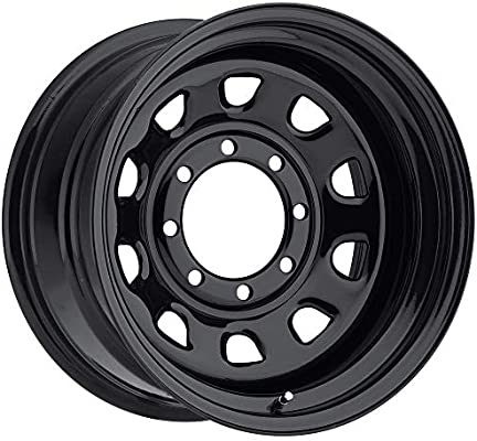 "6mm Gloss Black Wheel Rim 15/"" Inch Vision 84 D Window 15x8 5x4.5/"""