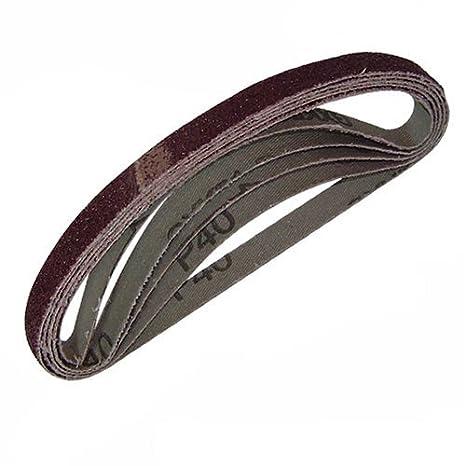 60 Silverline 910232 Sanding Belts 13 x 457mm 5pce 40 120G 2 x 80