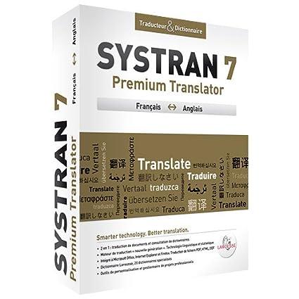 systran anglais francais gratuit