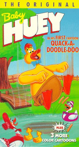 Baby Huey In His First Cartoon: Quack-A-Doodle-Doo [VHS]