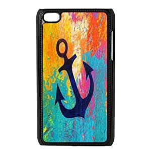 Custom Anchor Back Cover Case for ipod Touch 4 JNIPOD4-481