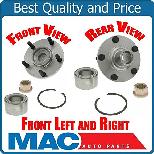 (Mac Auto Parts (2) 100% New Frt Wheel Hub Bearing Kit for Nissan Maxima Altima Infiniti I30 I35 )