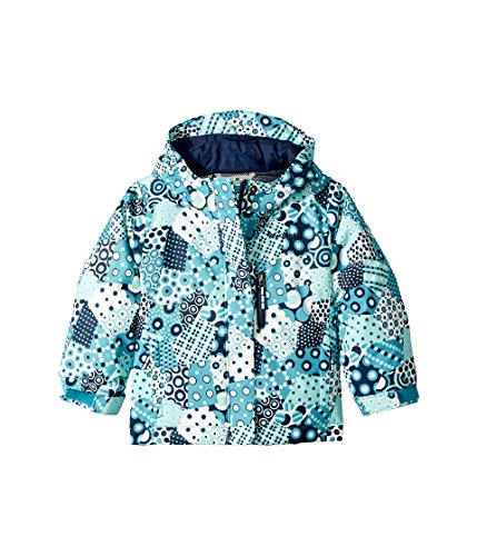 Columbia Kids Baby Girl's Magic Mile Jacket (Toddler) Pacific Rim Patchwork Print/Collegiate Navy 2T Toddler by Columbia (Image #4)