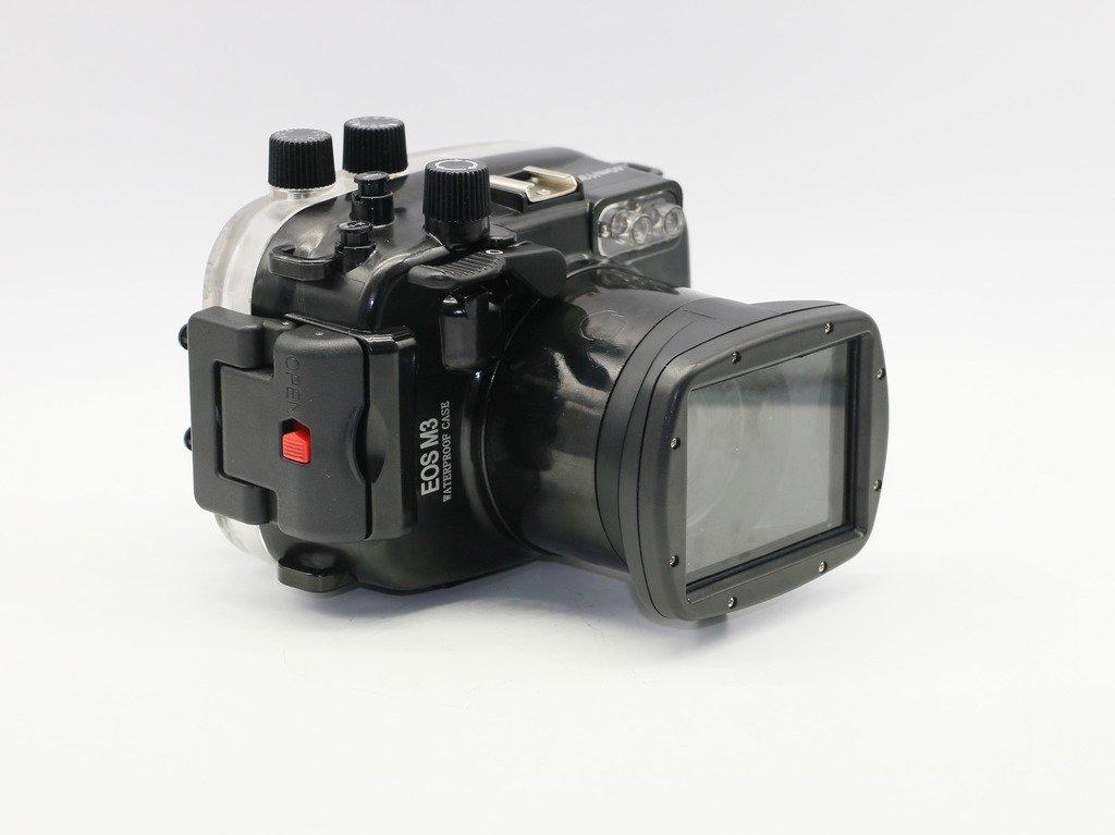 Polaroid ダイビング定格 完全防水 カメラハウジングケース (Canon M3 18~55mmレンズ デジタルSLRカメラ用)   B01H4BCIZW