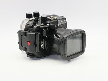Polaroid Carcasa submarina impermeable apta para buceo de cámara réflex (SLR) para la cámara Canon M3 con un objetivo de 18-55mm