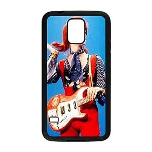 caso de David Bowie V1W98D9QL funda Samsung Galaxy S5 funda 888H53 negro