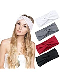 1950 s Vintage Modern Style Elastic Women Turban Headbands Twisted Cute  Hair Band Accessories 91fdce1cd27