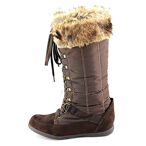 Zigi Soho Madalyn Synthetik Winterstiefel Brown