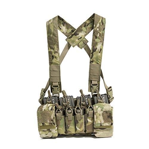 Haley Strategic Partners Disruptive Environments D3CRX Tactical Assault Chest Rig (MultiCam)