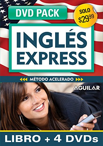 Inglés en 100 días - Inglés Express (Libro + 4 DV's) / English in 100 Days - English Express DVD Pack (Ingles en 100 Dias)]()