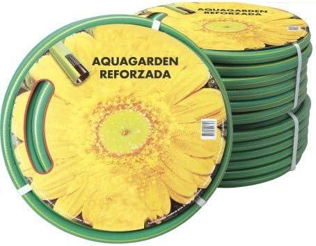 Manguera DE RIEGO para JARDÍN 50 Metros (15mm) AQUAGARDEN: Amazon.es: Jardín