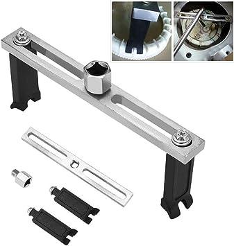 Einstellbare Kraftstoffpumpe Schlüssel 2 Jaw Kraftstoff Einstellbar Tankdeckel Removal Tool Kraftstoffpumpe Wrench Baumarkt
