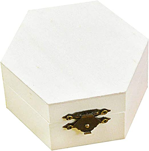 Depory Caja de Madera para Guardar Joyas, Madera Caja Regalo ...