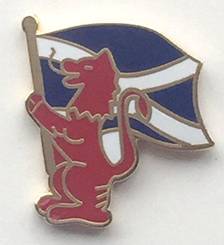 Lion d'Écosse blason Croix de saint André Standard-Porteur-Gifts Épinglette émaillée T735