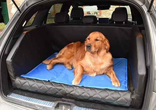 Cama refrescante para perros beeztess 90x50cm: Amazon.es: Deportes y aire libre