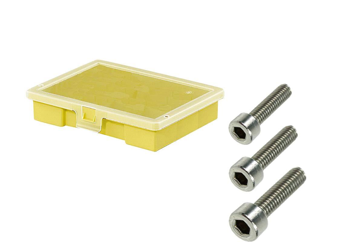M3 Schraubensortiment 600 Teile Edelstahl A2 DIN 912 Sortiment